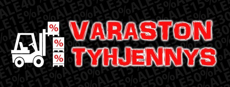 VARASTON TYHJENNYS