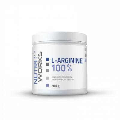 Arginiini, Nutri Works L-Arginine 100%