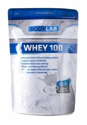 Heraproteiini, Bodylab Whey100 1 kg, maustamaton
