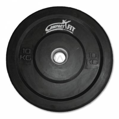 Levypaino Bumper Plate 1 kg, CompactFit