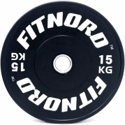 Levypaino 15 kg, FitNord Bumper Plate