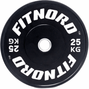 Levypaino 25 kg, FitNord Bumper Plate