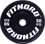 Levypaino 50 kg, FitNord Bumper Plate