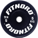 Levypaino 5 kg, FitNord Bumper Plate
