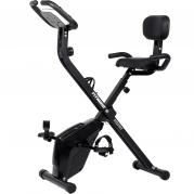 FitNord Cyclo 50X kokoontaitettava kuntopyörä selkänojalla