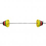 Levytankosarja 100 kg Tri Grip Olympic, FitNord (Max. 225 kg tangolla)