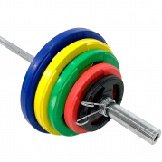 Levytankosarja 125 kg Tri Grip Olympic, FitNord (Max. 225 kg tangolla)