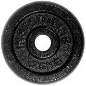 inSPORTline Blacksteel Levypaino 30 mm 1,25 kg