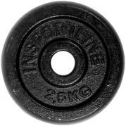 inSPORTline Blacksteel Levypaino 30 mm 2,5 kg