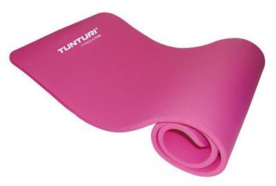 Jumppamatto / Fitnessmatto NBR, Tunturi, pinkki