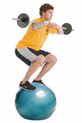 Jumppapallo, Powerball® Extreme ABS®, TOGU, käytössä