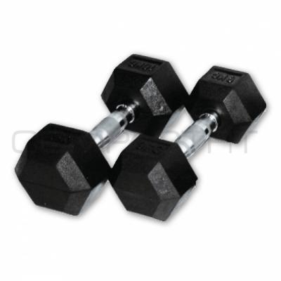 Käsipainot,  CompactFit Hex 10 kg (pari)