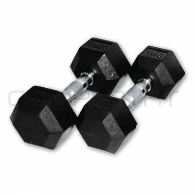 Käsipainot, CompactFit Hex (pari) 12,5 kg