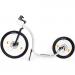 Kickbike Cross FIX Potkupyörä helmenvalkoinen