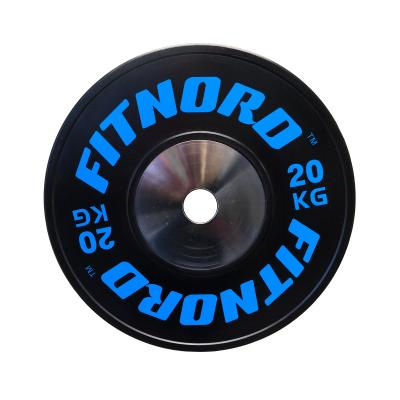 Kilpailulevypaino Bumper Plate 20 kg, FitNord
