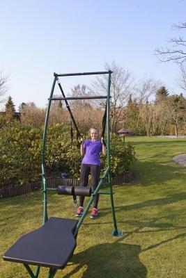 Kuntokeskus ulkokäyttöön, Garden Gym