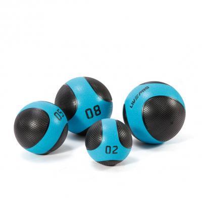 Kuntopallo 8 kg, Solid Medicine Ball, LivePro