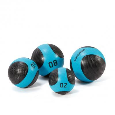 Kuntopallo 9 kg, Solid Medicine Ball, LivePro