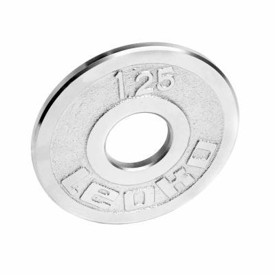 LEOKO metallilevypaino 1,25 kg, IPF-hyväksytty voimanostoon