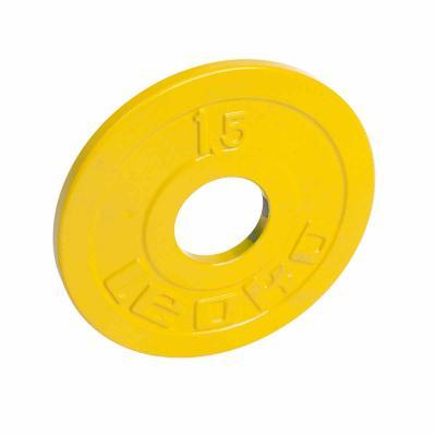 LEOKO metallilevypaino 1,5 kg, IPF-hyväksytty voimanostoon