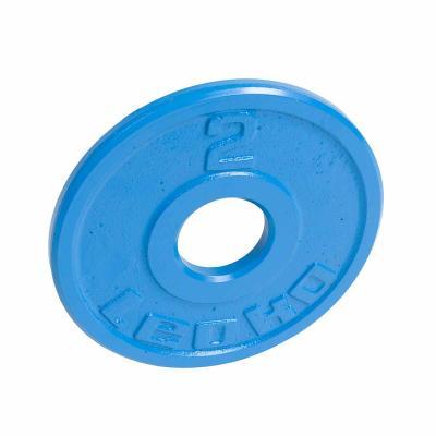 LEOKO metallilevypaino 2 kg, IPF-hyväksytty voimanostoon