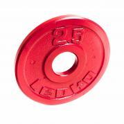 LEOKO metallilevypaino 2,5 kg, IPF-hyväksytty voimanostoon