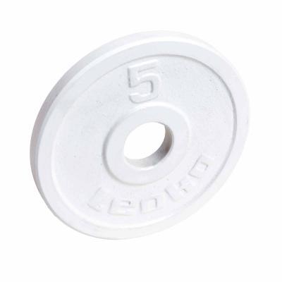 LEOKO metallilevypaino 5 kg, IPF-hyväksytty voimanostoon