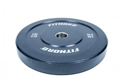 Levypaino Bumper Plate 15 kg, FitNord