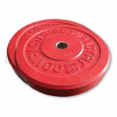 Levypaino Bumper Plate 5 kg, CompactFit
