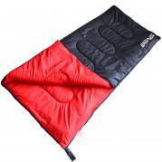 SportVida makuupussi mustapunainen ripstop-polyesteri