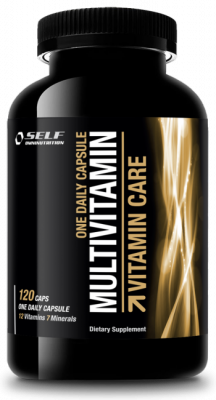 Multivitamiini, Self Daily Care 120 kaps.