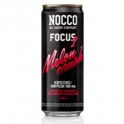 NOCCO Focus 2, Melon Crush -energiajuoma, 330ml, 24-PACK