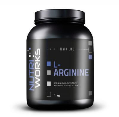 Arginiini, Nutri Works L-Arginine 100% 1 kg