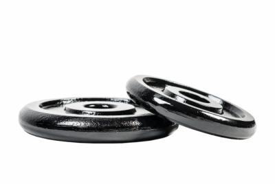 Levypaino, musta metallipaino 30 mm tangolle