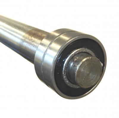 Tangon päissä kaksinkertainen kuulalaakerointi - Olympia-painonnostotanko 20 kg, max. 680 kg