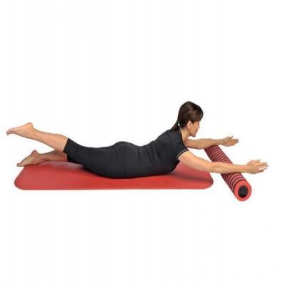 Pilates-rulla (foam roller) Comfy Pro, jalan nosto selin