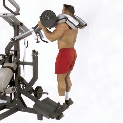 Pohje-/Kyykkylaite, Leverage Calf Squat Attachment, Body-Solid (lisäosa)