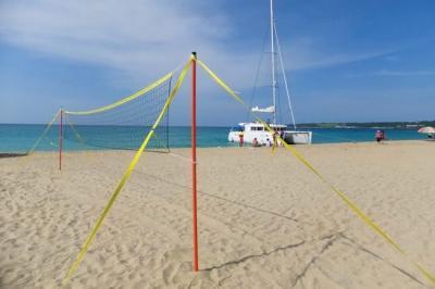 Rantalentopallo verkkosarja 8,5 x 1 m