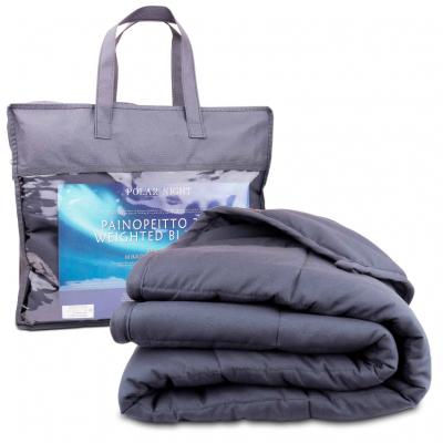 Painopeitto 7 kg, mikrokuitu, Polar Night (150x200 cm)
