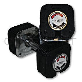 Säädettävä käsipainosarja 20 kg (pari), CompactFit