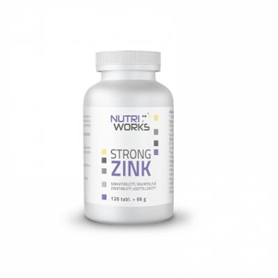 Sinkki, Nutri Works Strong Zink 25 mg 120 tabl.