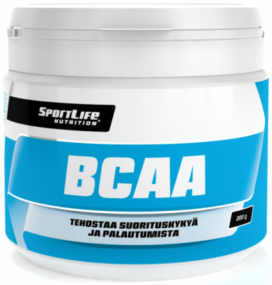 Aminohappovalmiste, SportLife BCAA 200g