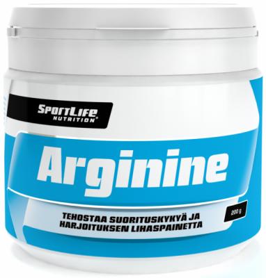 Arginiini, SportLife Arginine 200g