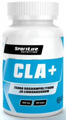 Laihdutusvalmiste, SportLife CLA+ 100 kaps.