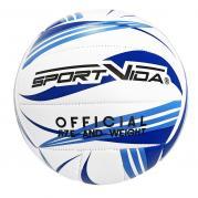 SportVida Lentopallo harrastuskäyttön, koko 5, sininen / valkoinen