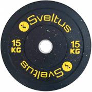 Sveltus Olympic Disc Bumper 15 kg Levypaino