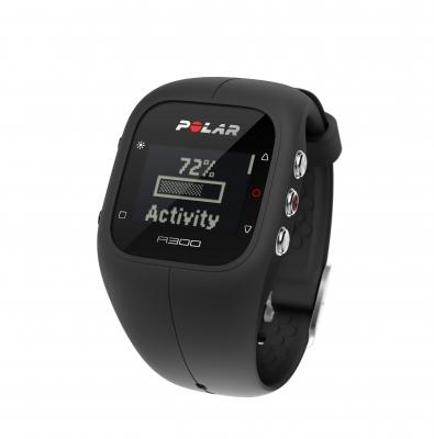 Fitnessmittari, Polar A300 (HR) Black