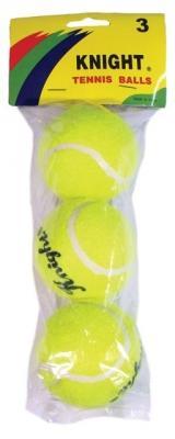 Tennispallo, harjoituspallo (3 kpl / pussi)