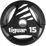Tiguar otekahvallinen 15 kg PU levypaino
