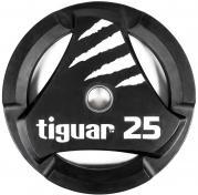 Tiguar otekahvallinen 25 kg PU levypaino
